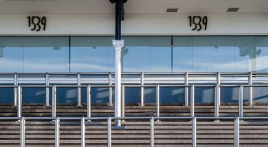 Motorised Blinds at 1539 Chester Racecourse